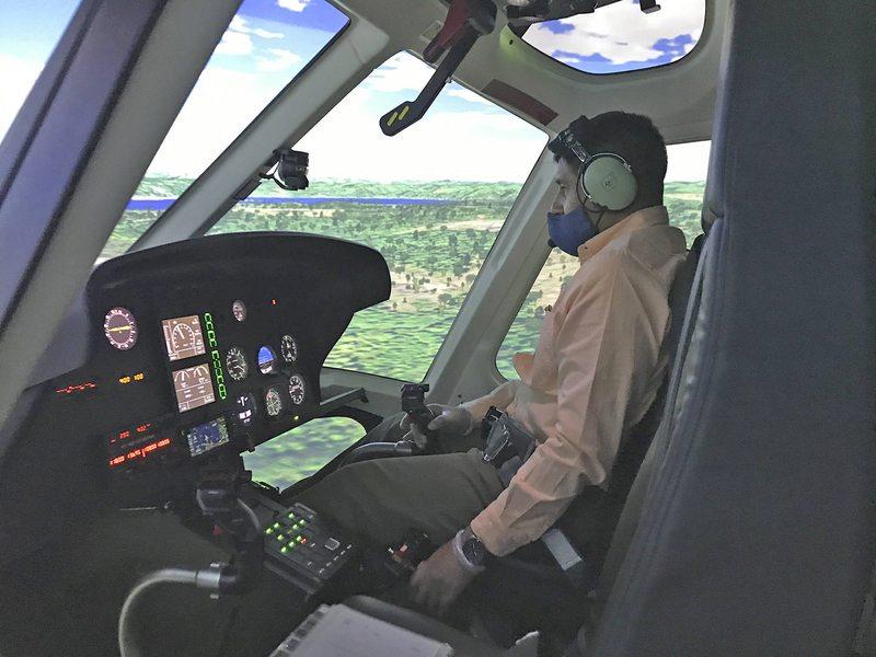 Cuánto cuesta estudiar y cuánto pueden ganar los pilotos de helicóptero