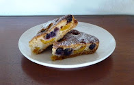 plum and blackberry slice