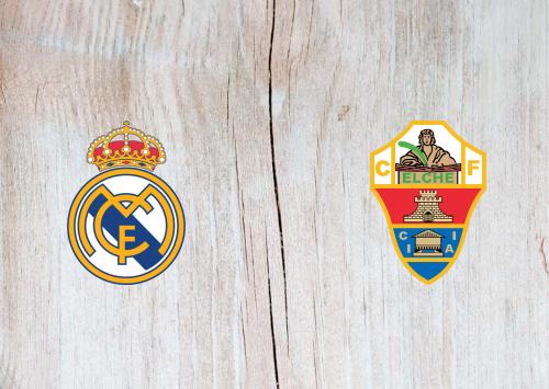Real Madrid vs Elche -Highlights 13 March 2021