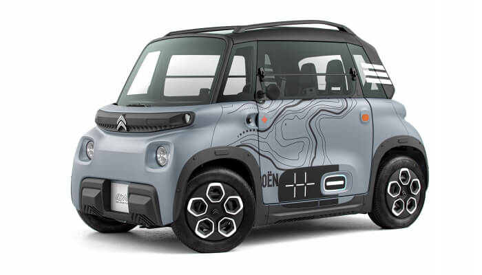 Citroën Ami, A Small Electric Car That Can Be Driven Without A Driving License