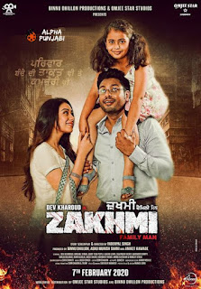 Zakhmi Punjabi Movie (2020) Download 720p HDRip