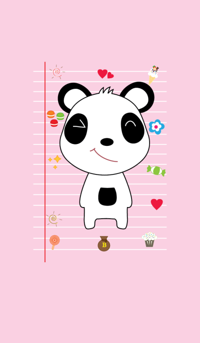 Cute Panda Theme V6 JP