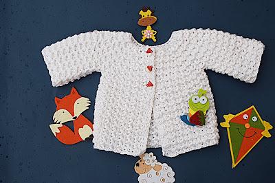 3 - Crochet Imagen Chambrita a crochet muy fácil y sencilla por Majovel Crochet
