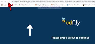 adfly tanpa allow_cara melewati adfly di android,melewati adfly di laptop
