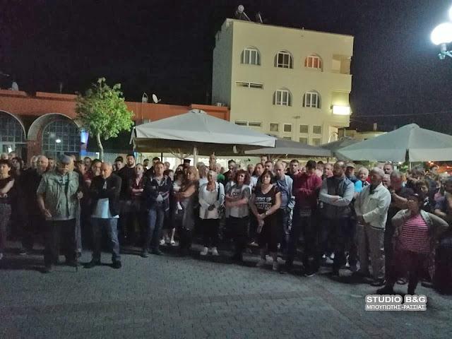 Συγκέντρωση διαμαρτυρίας των κατοίκων της Νέας Κίου για την ανεξέλεγκτη δράση των Ρομά