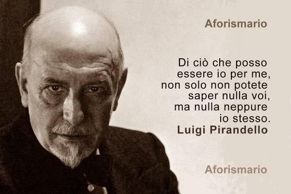 Aforismario Citazioni Di Luigi Pirandello Dai Romanzi