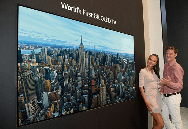 IFA 2018: LG releases the first 88-inch 8K OLED TV
