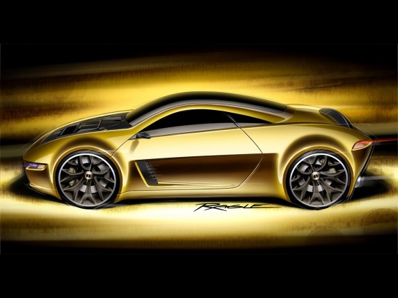 1230carswallpapers Golden Car