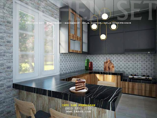 kitchen set minimalis surabaya