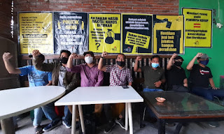 Jalan Terjal GMCM , Aktivis Diintimidasi, Banner Seruan Pilih Paslon Berintegritas Dirusak