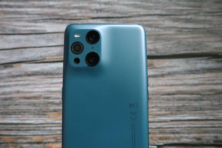 Oppo Find X3 Pro kamera bölümü