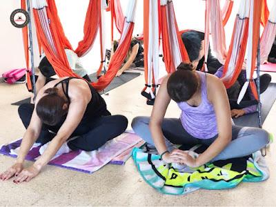 yoga aéreo terapia