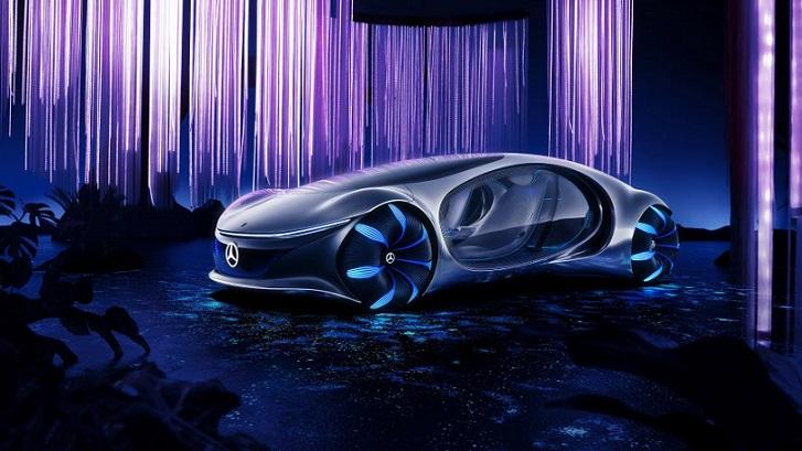 Mercedes Vision AVTR, Mobil Super Canggih untuk Masa Depan