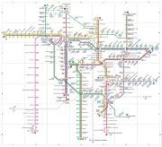 Cara membaca Peta Transjakarta atau Peta jalur Halte untuk Transit atau lainnya