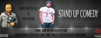 stand up comedy - Nae Nicolae și Adi Bobo