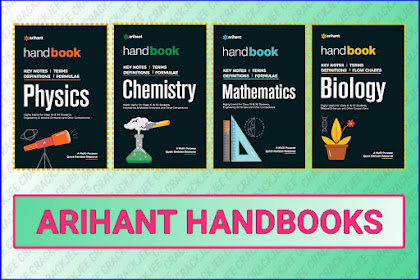 [Pdf] Download Arihant Handbooks for JEE, NEET and other Entrance Exams
