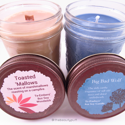 te-embers candles - the beauty puff