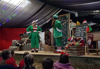 Cockfields Farm Christmas Experience Elf Show 8 Days Of Christmas