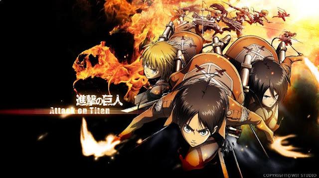Top Anime Like Tokyo Ghoul - Attack on Titan (Shingeki no Kyojin)