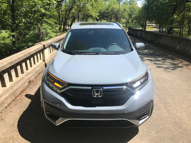 Front view of 2020 Honda CR-V Touring