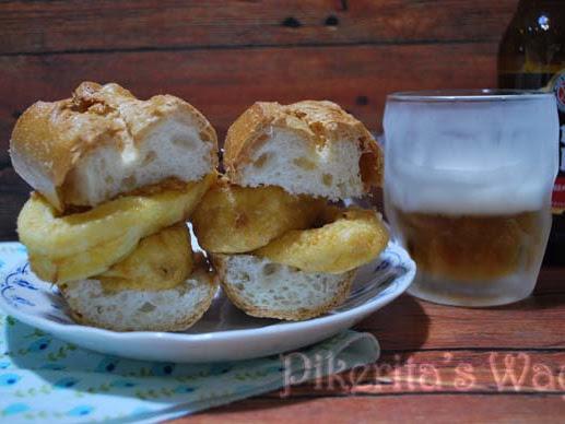 Montaíto de calamares sin gluten