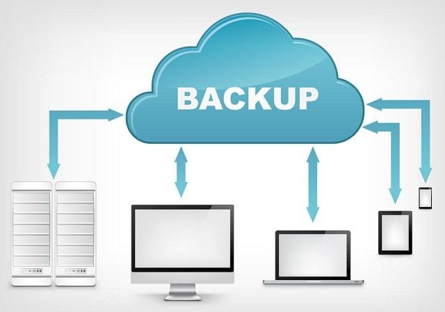 optimal backup schedule business websites backing up sites