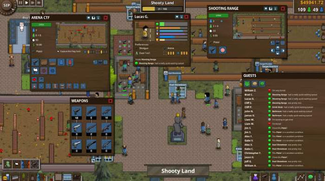 Battle Royale Tycoon — the genre of the royal battle in recent times seems to be a mandatory program for developers.