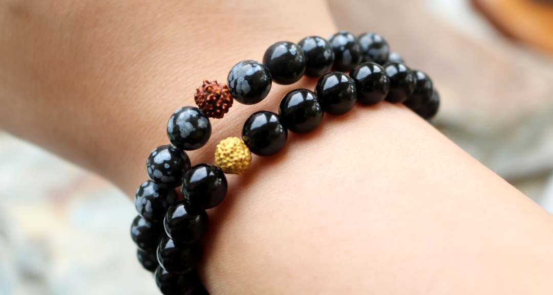 Zessoo Black Onyx and Snowflake Obsidian Bracelets review