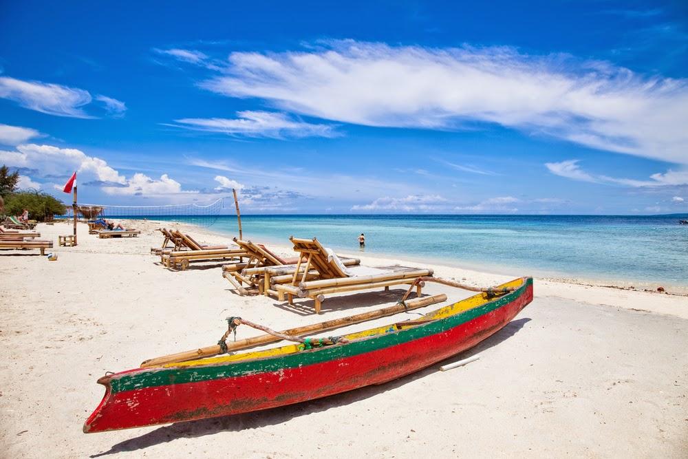 Gili Trawangan Lombok Beach