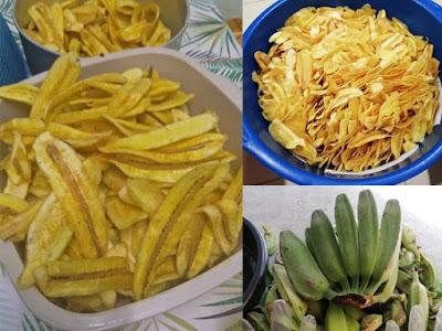 contoh olahan pisang dengan digoreng