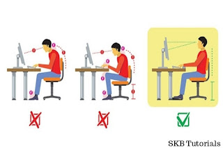 How to reduce stress while working on a computer