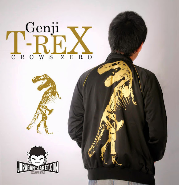 jas exclusive jaket crows zero  t rex 2