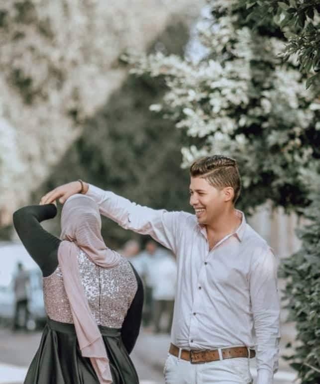 """تهنئة بالخطوبة السعيدة لأجمل عروسين.. """"محمد المزاتي"""" و""""سوسو خضر"""""""