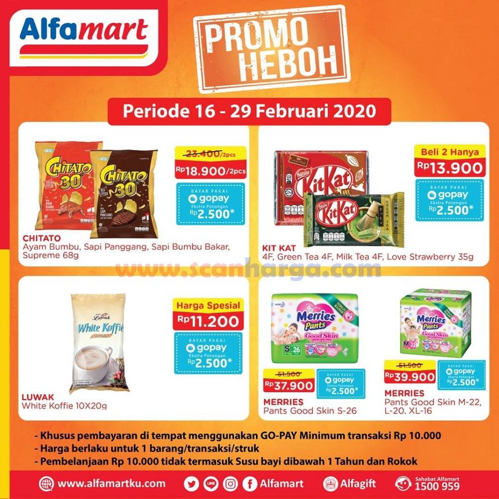 Alfamart Promo Heboh Periode 16 29 Februari 2020 Scanharga