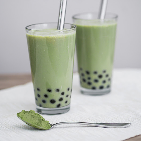 Matcha Milk Tea Boba