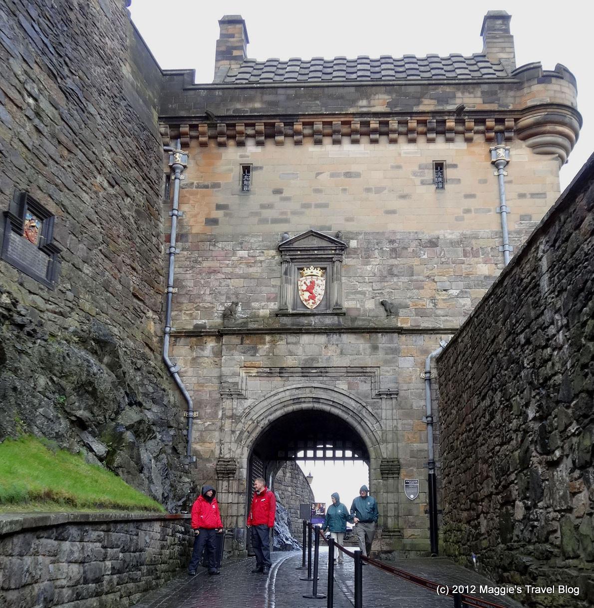 梅梅雜記: 2012 英國自由行 16:愛丁堡之四, 世界文化遺產《愛丁堡城堡》