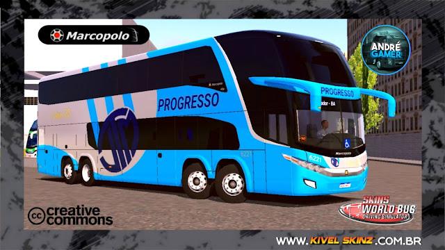 PARADISO G7 1800 DD 8X2 - VIAÇÃO PROGRESSO