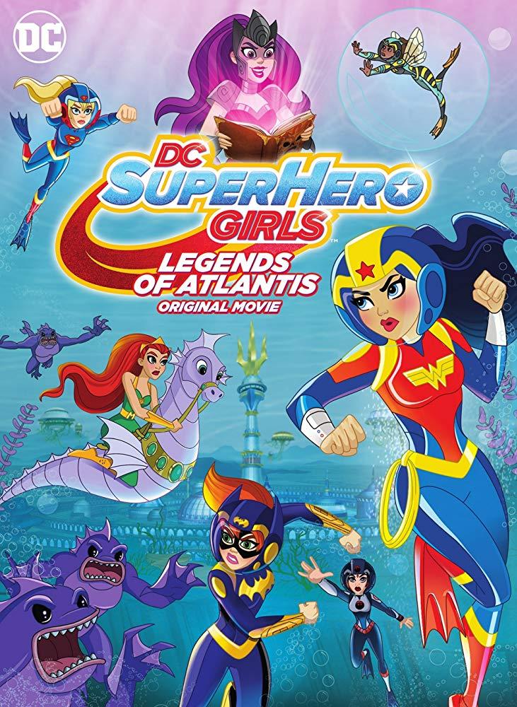 Baixar DC Super Hero Girls: Lendas de Atlântida (2018) Dublado