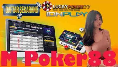 M Poker88