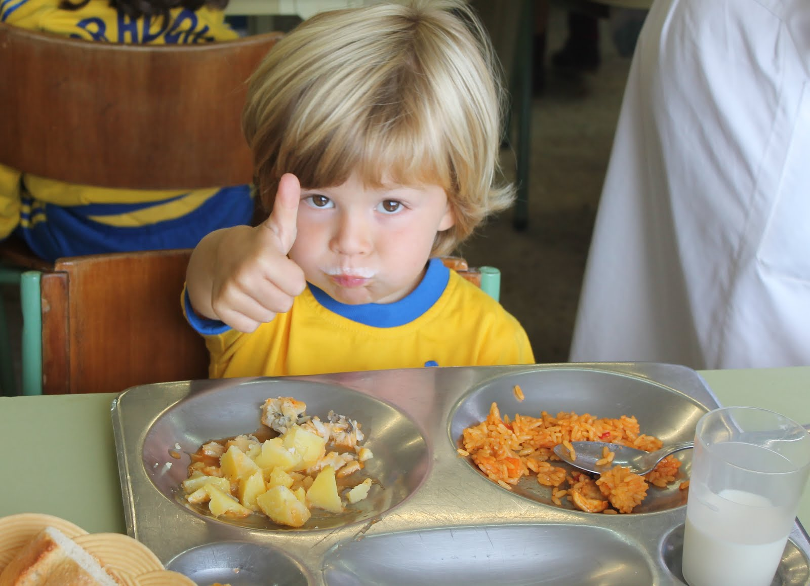 Colegio Obradoiro: Comedor escolar de calidad