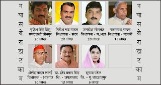 जौनपुर : 7 जनप्रतिनिधियों ने मिलकर की 1 करोड़ की सहायता, तीन बीजेपी विधायक, दोनों सांसदों की तरफ आशाभरी निगाहों से देख रही जनता