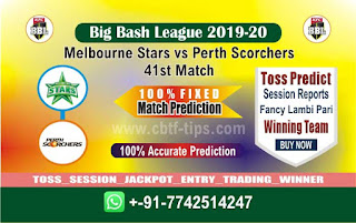cricket prediction 100 win tips Star vs Perth
