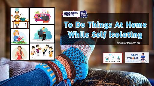 things to do at home during Coronavirus disease