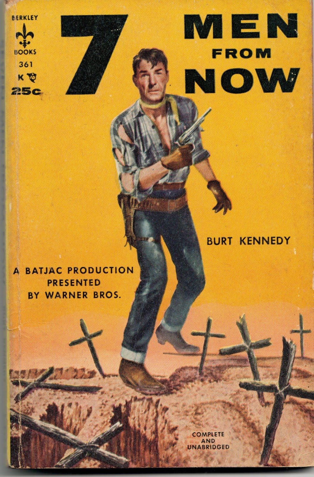 Seven Men From Now  Westerns /& Cowboy Movie Posters