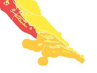 narančasti stupanj pripravnosti Srednja Dalmacija slike otok Brač Online