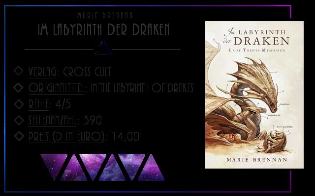 [Rezension] Lady Trents Memoiren: Im Labyrinth der Draken - Marie Brennan
