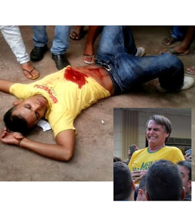 Jovem se esfaqueia para provar que facada de Bolsonaro foi falsa e acaba morrendo