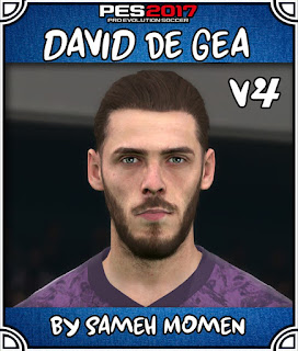 PES 2017 Faces David De Gea by Sameh Momen