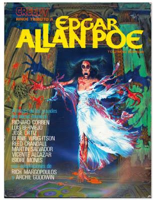 Richard Corben RIP - especial Creepy tributo a Edgar Allan Poe