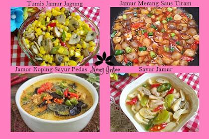 Beberapa Resep Jamur Sederhana